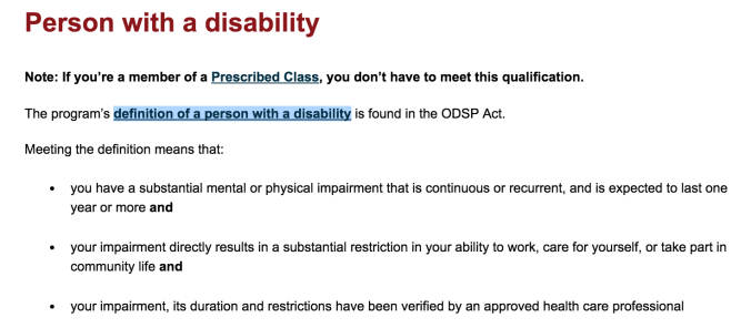 Source: http://www.mcss.gov.on.ca/en/mcss/programs/social/odsp/income_support/IS_Eligibility.aspx